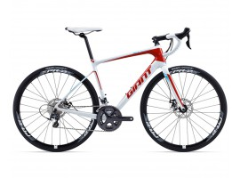 VELO ROUTE CARBONE GIANT DEFY ADVANCED 1 2015 COMPACT