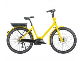 VELO ELECTRIQUE MOUSTACHE LUNDI 26 YELLOW 10S 400WH 2016