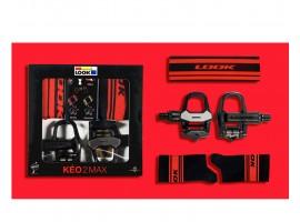 PACK LOOK KEO 2 MAX BLACK RED