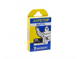 CHAMBRE A AIR VELO MICHELIN A1 700X18/25C 52mm AIRSTOP BUTYL