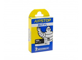 CHAMBRE A AIR VELO MICHELIN A1 700X18/25C 40mm AIRSTOP BUTYL