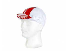CASQUETTE RAFA'L WHITE RED