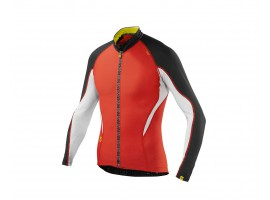 MAILLOT MANCHES LONGUES MAVIC HC ROUGE