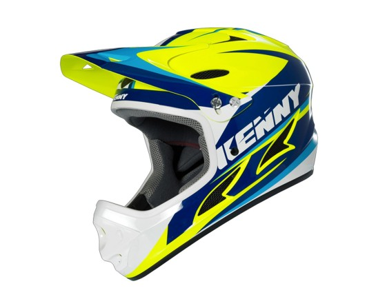 CASQUE KENNY DOWN HILL 2016 JAUNE