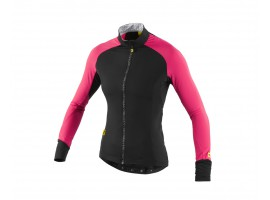 MAILLOT MANCHES LONGUES MAVIC ATHENA THERMO CERISE FEMME