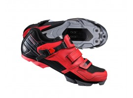 CHAUSSURES VTT SHIMANO SH-XC51 ROUGES