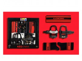PACK LOOK KEO 2 MAX BLACK RED