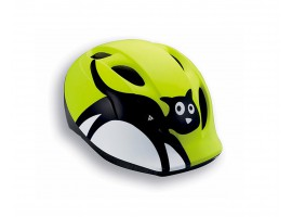 CASQUE MET SUPER BUDDY 2014 CHAT JAUNE