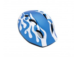 CASQUE MET SUPER BUDDY 2011 BLEU FLAMME