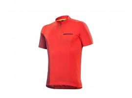 MAILLOT MANCHES COURTES MAVIC XA PRO HOMME ROUGE
