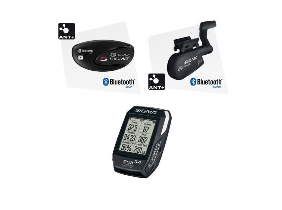 COMPTEUR GPS SIGMA ROX 11.0 EMETTEURS