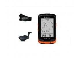 COMPTEUR GPS BRYTON RIDER 530T HRM + CAPTEUR CAD/VIT