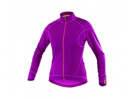MAILLOT MANCHES LONGUES MAVIC KSYRIUM ELITE THERMO W VIOLET