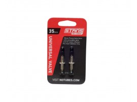VALVES TUBELESS NOTUBES UNIVERSELLES 35mm
