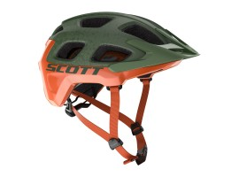 CASQUE SCOTT VIVO PLUS METAL GREEN ORANGE